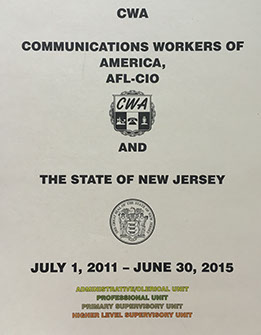 CWA and NJ Contract July 1, 2011 - June 30, 2015