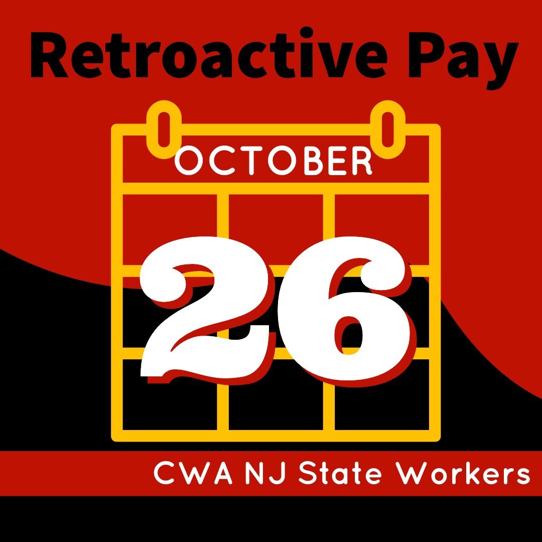 Retroactive Pay October 26th | CWA Local 1033