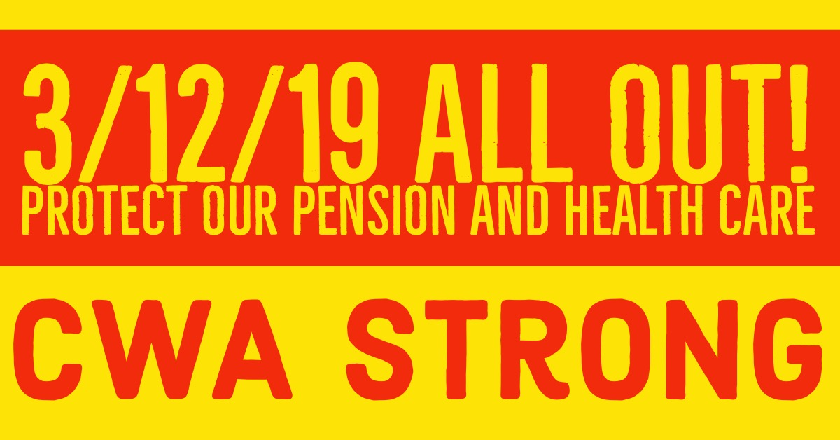 I'll Be There to protect my pension and healthcare